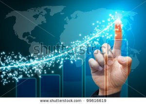 stock-photo-hand-point-to-lighting-report-graph-99616619