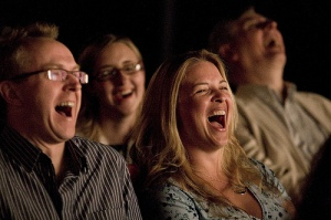 laughing-audience